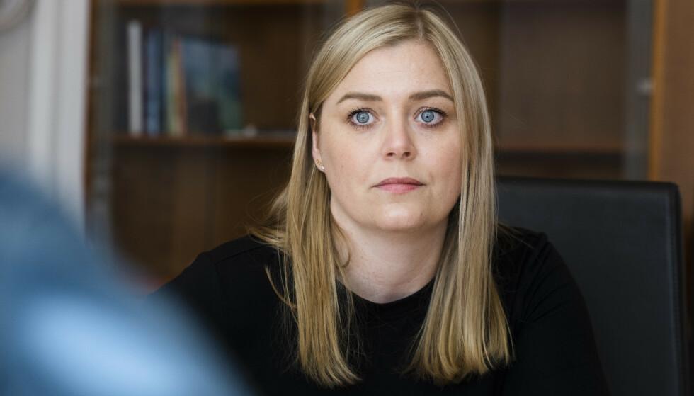MENER INNLEGGET ER RIMELIG: Høyre-nestleder Tina Bru. Foto: Lars Eivind Bones / Dagbladet