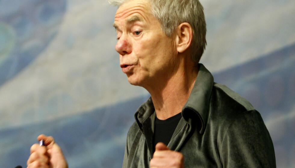 BEKYMRET: Økonomiprofessoer Karl Ove Moene ved UiO er bekymret for utviklingen rundt ulikhet i Oslo. Foto: Knut Falch / NTB Foto: Knut Falch / NTB