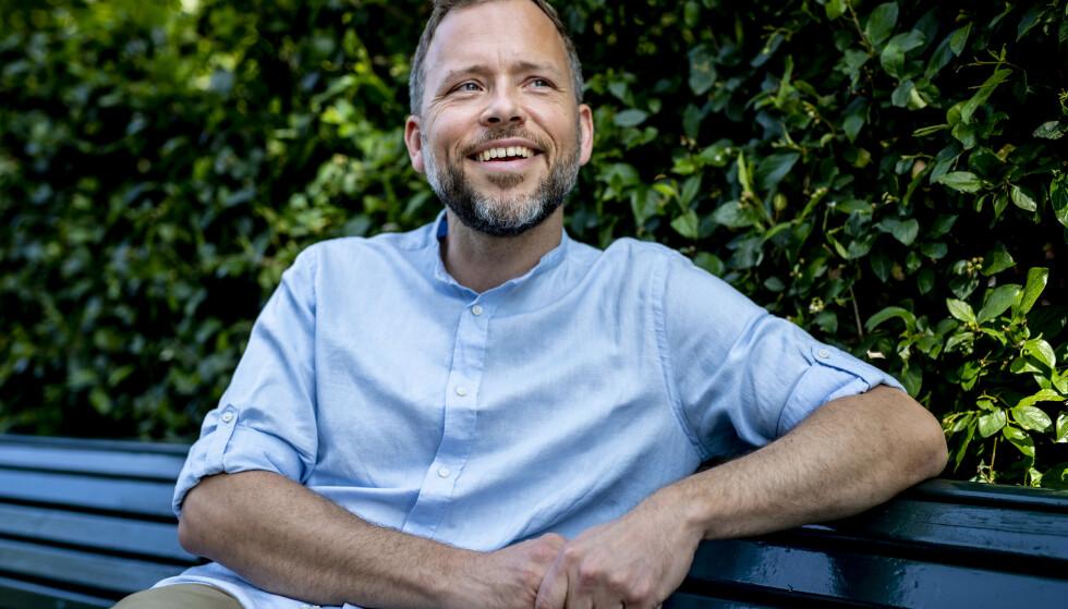 GLAD: SV-leder Audun Lysbakken er fornøyd med endringa. Foto: Bjørn Langsem / Dagbladet