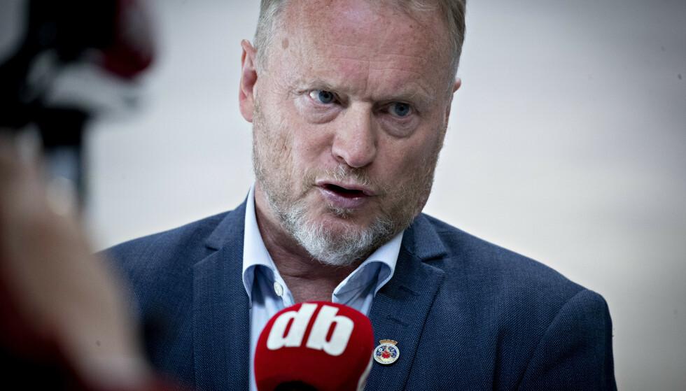- TRIST: Byrådsleder Raymond Johansen reager sterkt på avsløringene om en lukket gruppe der det diskuteres hvordan Arbeiderpartiet kan knekkes. Foto: Bjørn Langsem / Dagbladet