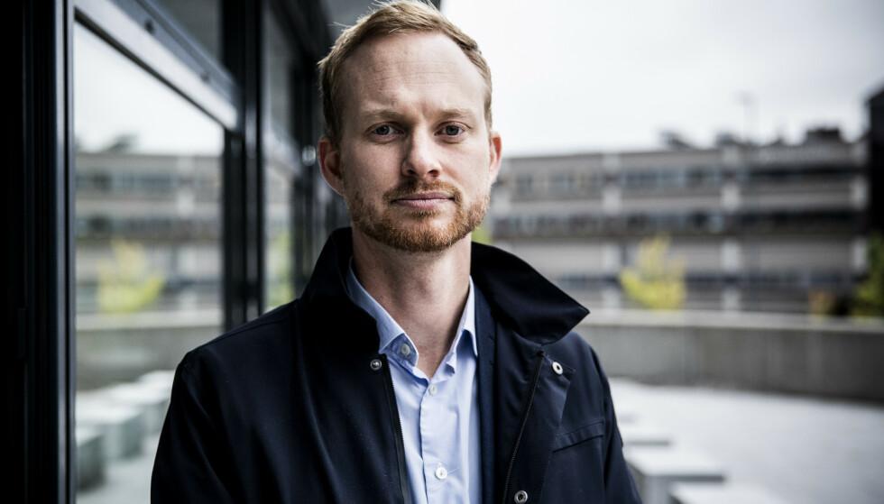 BEKYMRET: Partner i Fair Group, Christian Aandalen, er bekymret over utviklingen. Foto: Christian Roth Christensen / Dagbladet