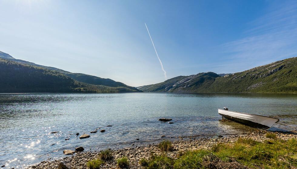 BER OM 12 MILL.: Ifølge eiendomsmegleren følger det en båt med på kjøpet. Foto: Kathinka Herbst