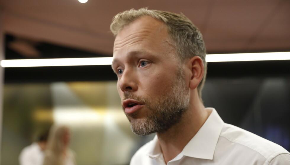 BEKYMRET: SV-leder Audun Lysbakken ser urolig på utviklingen i boligmarkedet. Foto: Nina Hansen / Dagbladet
