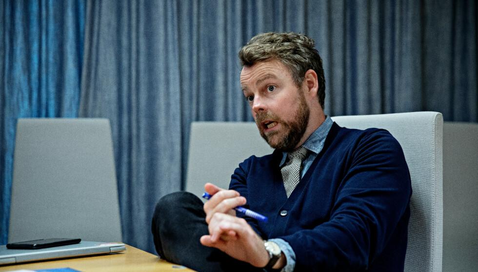 SNUR: Arbeids- og sosialminister Torbjørn Røe Isaksen snur om coronareglene for permittering. Foto: Nina Hansen / Dagbladet