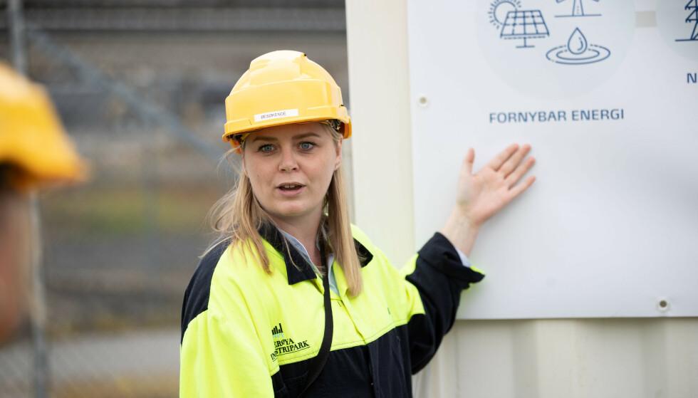TIL ANGREP: Olje- og energiminister Tina Bru mener det norske folk er klokere enn Dagbladet og Ipsos. Foto: Hanna Johre / NTB