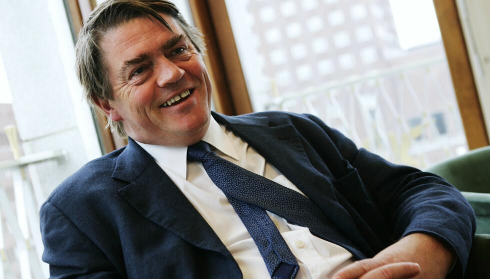 SOVER GODT: Investor Jan Petter Sissener lar seg ikke stresse av valgresultatet. Foto: Erlend Aas / NTB
