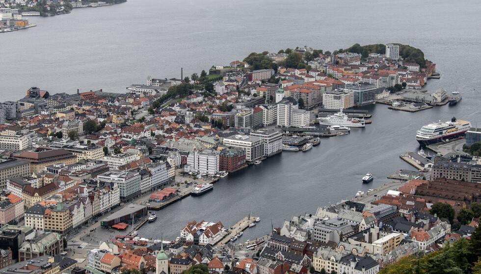 INKASSO: Bergen er en av kommunene som hadde flere aktive inkassosaker. Foto: Marit Hommedal / NTB