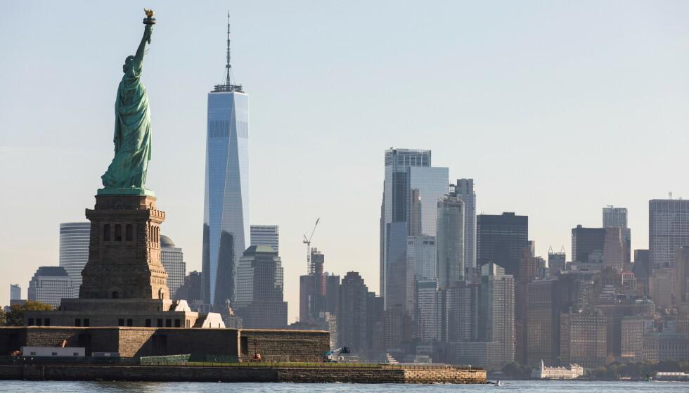 ÅPNER IGJEN: USA planlegger å åpne opp for reisende fra Europa igjen etter 18 måneder med innreiseforbud. Foto: REUTERS/Bjoern Kils/New York Media Boat
