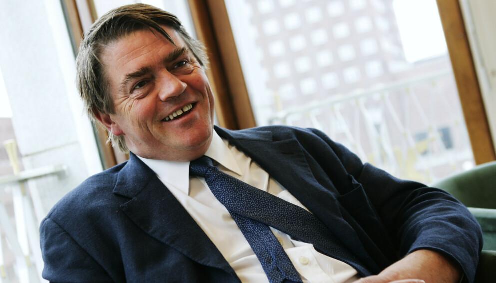 GLEDER SEG: Aksjeforvalter og investor Jan Petter Sissener gleder seg til en knekk på børsen. - Det skal bli deilig å kjøpe billige aksjer igjen, sier han. Foto: NTB