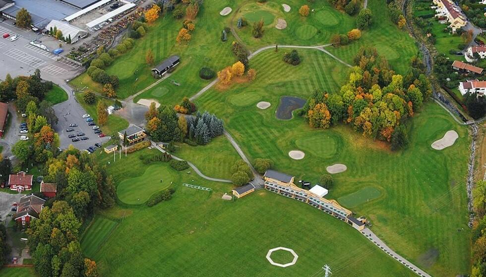 I FARE: 40 prosent av Ballerud Golfbane kan forsvinne i utbyggingen. Foto: Ballerud Golfklubb