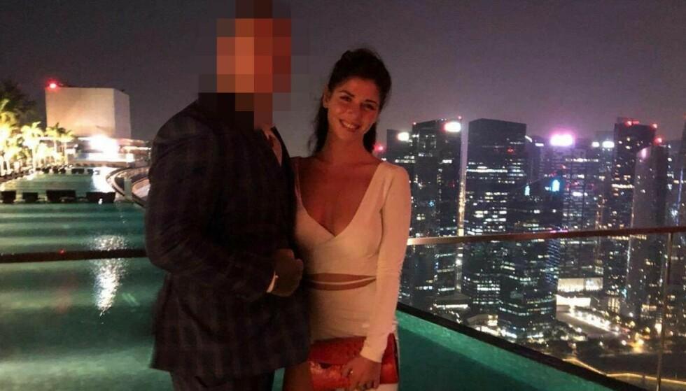 PÅ FERIE: Paret møttes i Thailand, og dro på ferie til Vietnam, Singapore og Dubai sammen. Anna Reed delte bilder fra reisene på sin Facebook-side. Foto: Facebook