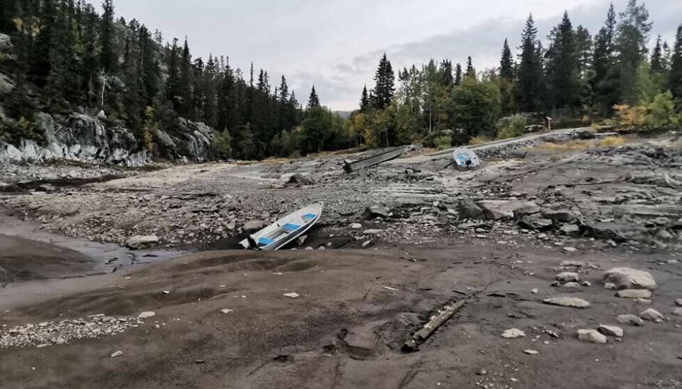 - INNENFOR GRENSA: Skagerak Kraft avviser på det sterkeste at selskapet har tappet mer vann enn det som er lovlig. Foto: Terje Aasen