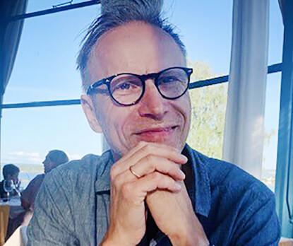 Ole Tom Djupskås i analyseselskapet Refinitiv. Foto: Privat.