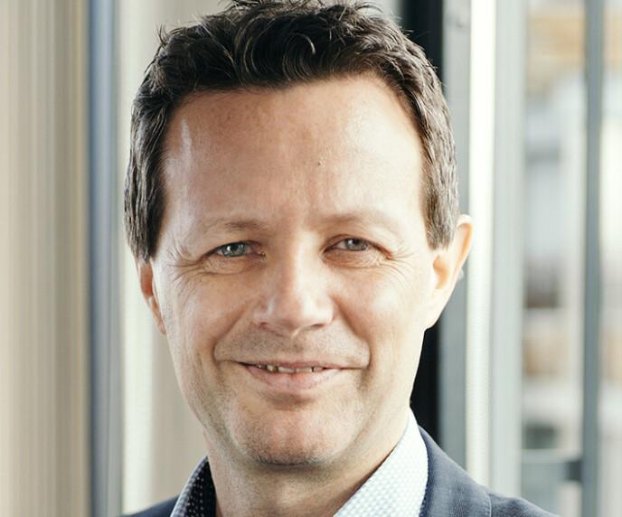 FULL POTT: Runar Hollevik i NorgesGruppen legger 100 millioner kroner i potten og håper på at det skal generere gode bærekraftsideer. Foto: Norgesgruppen