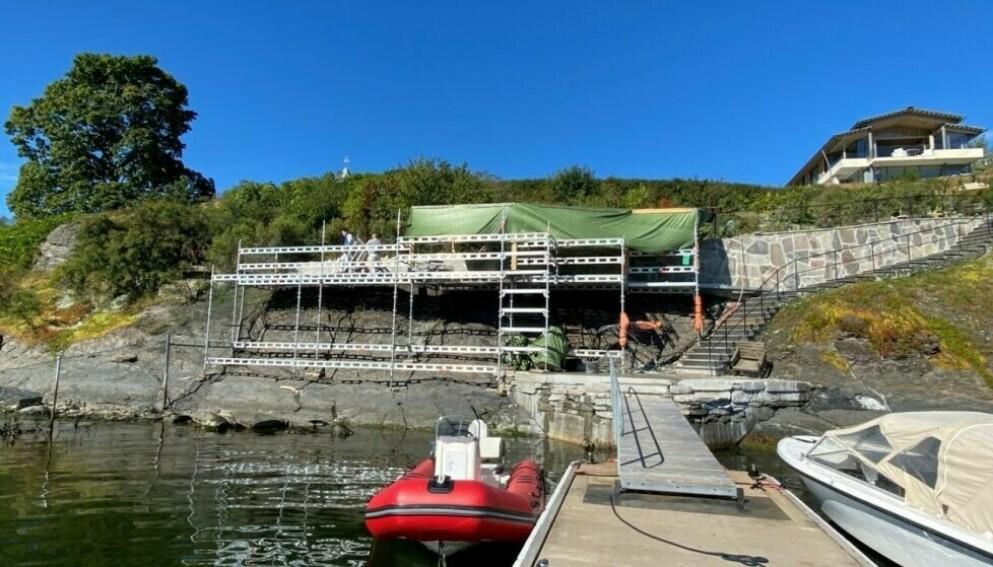 STOPPORDRE: Det var dette byggeprosjektet Spetalen i fjor fikk klar beskjed om å stanse. Foto: Oslo kommune