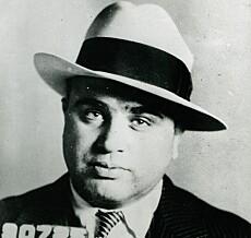 SCARFACE: Al Capone betalte 40 000 dollar for Miami-eiendommen i 1928. Foto: Shutterstock editorial / NTB