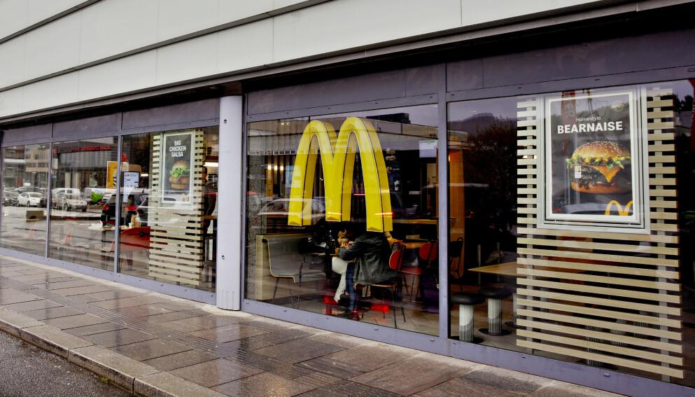 MARERITT-BESKRIVELSER: Arbeidstilsynet avdekket skandaleforhold for de ansatte ved denne restauranten i Åsane. Så kom bekymringmeldinger fra ytterligere to andre McDonald's-restauranter i Bergen. Foto: Paul S. Amundsen