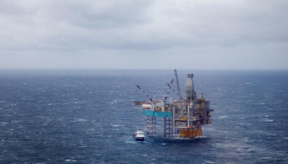 REFORM: Hovedforfatter av IMF-rapporten, Ian Parry, mener at det er behov for en reform knyttet til prising av fossil energi. Her fra Edvard Grieg-feltet som ligger på Utsirahøyden i Nordsjøen. Foto: Håkon Mosvold Larsen / NTB