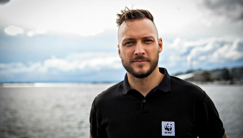UTFORDRER STØRE&CO: Fredrik Myhre mener statsbudsjettet ikke gir mye håp om at Oslofjorden vil reddes. Foto: WWF