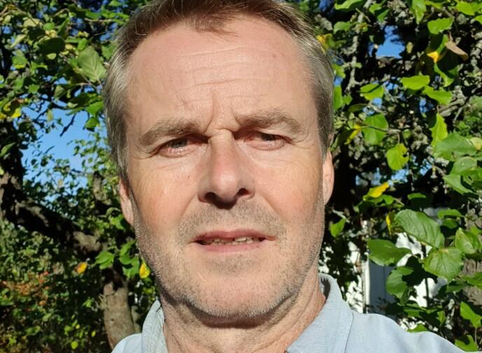KOMMER IKKE LANGT MED TI MILLIONER: Arnodd Håpnes i Naturvernforbundet mener det ikke kan kalles en satsing når regjeringen vil bruke ti millioner kroner på Oslofjorden. Foto: Naturvernforbundet.