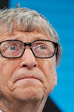 Image: Bill Gates i sorg
