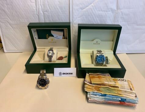 Image: Mistenker Rolex-hvitvasking av coronajuks-penger