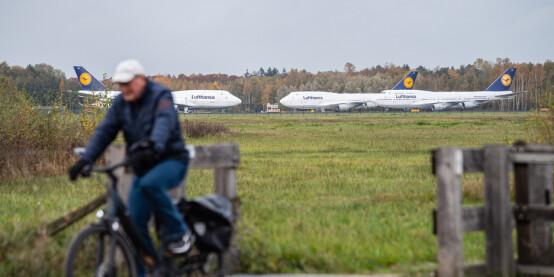 Image: Her skulle flyene aldri landet