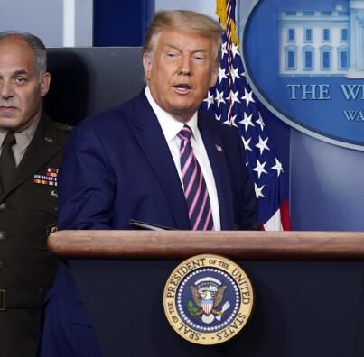 Image: Tar avstand fra Trump