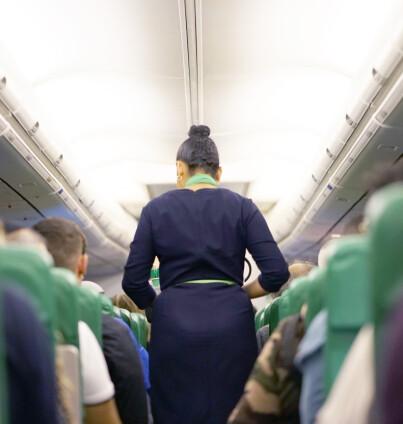 Image: Vil at kabinbesetning bruker bleier