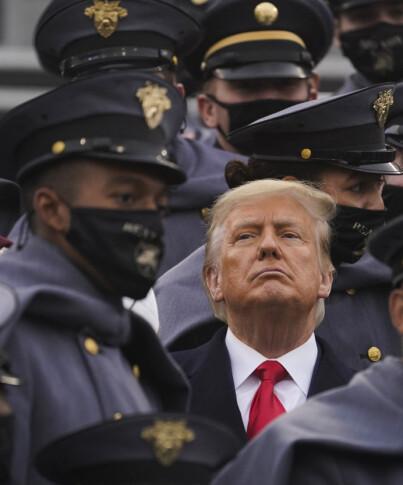 Image: USA angrepet - Trump taus
