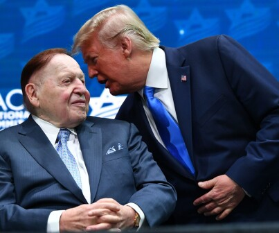 Image: Donald Trumps megadonor er død