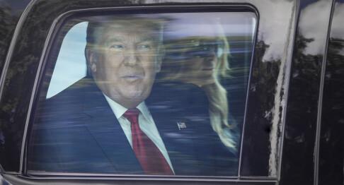 Image: Donald Trumps kjemperegning