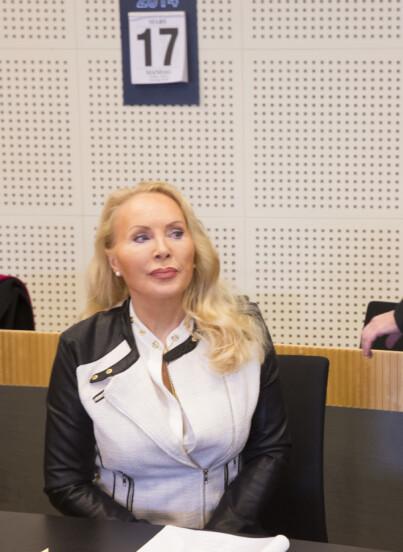 Image: Høiness i retten etter boligbråk