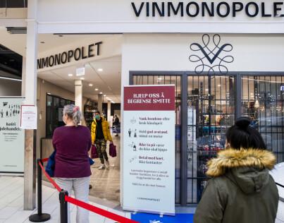 Image: Vinmonopolet må stenge