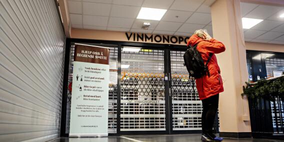 Image: Vinmonopolet åpner igjen