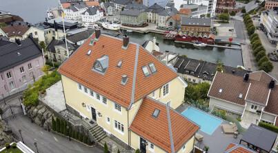Image: Håver inn på «Mesternes»-villaen