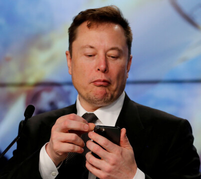 Image: Lurt for bitcoin-millioner av «Elon Musk»