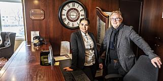 Image: Per og Bahareh åpner hotell
