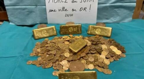 Image: Gullfunn i dødsbo