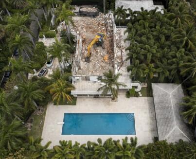Image: «Skrekkhuset» jevnet med jorda