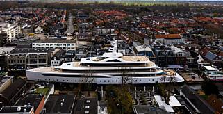 Image: Superyacht-bildet går verden rundt