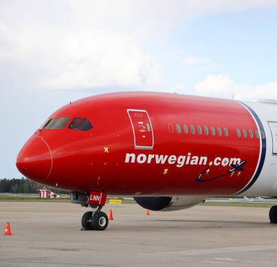 Image: Norwegian-datter begjærer seg konkurs