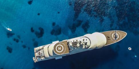 Image: - Utleie av luksusfartøy til himmels