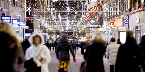 Image: Nedslående beskjed: Varsler julesmell