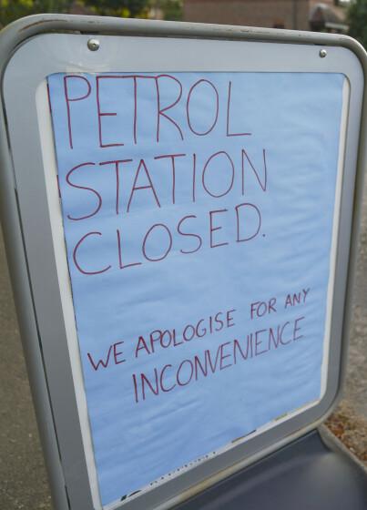 Image: Bensinkrise: 22 liter pr. kunde